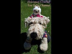 HelenMay Crochet: Crochet Airedale Terrier Dog Part 1 of 2 DIY Tutorial