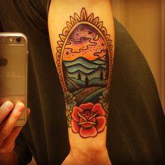 Devil tattoos my tattoos pinterest for Blue ridge mountain tattoo