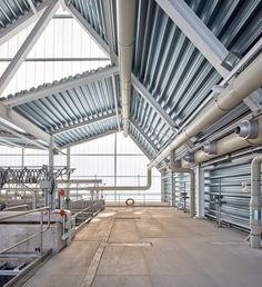 padilla nicas arquitectos, Mariela Apollonio · E.D.A.R Wastewater Plant in San Claudio