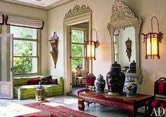 The Ottoman Chic Home of Serdar Gülgün, Istanbul, Turkey