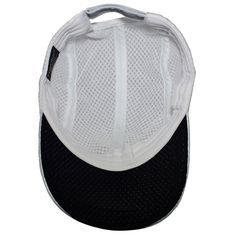 Race Day Running Cap - White by TrailHeads