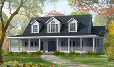Excel Homes — the smarter way to build a new home - I love the look of this house.  The long porch just makes this my ideal.
