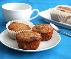 Chocolate Pecan Pie Muffins - Low Carb and Gluten-Free