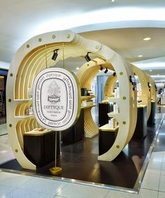 DIPTYQUE POP-UP STORE BEIJING CHINA