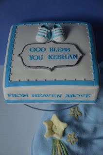 Cute Baby Dedication cake!