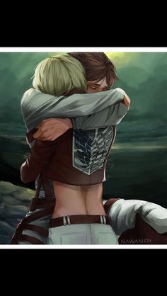 When I saw Armin's lower back, I started bleeding from my nose.>>>I don't get the nosebleeds, or understand them