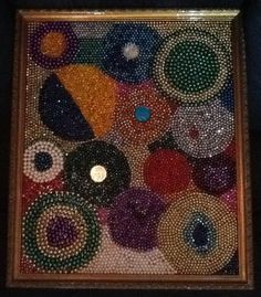 Mardi Gras Momento - turn beads into art Once we collect all of our beads then we can make some sweet artwork - Mardi Gras Buddy!!!