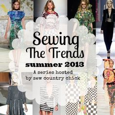 Sewing the trends!