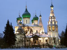 Yaroslavl, Russia.  http://www.worldheritagesite.org/sites/yaroslavl.html