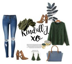 """""""Bez naslova #16"""" by aidaaa1992 ❤ liked on Polyvore featuring xO Design, WithChic, MICHAEL Michael Kors, H London, Ann Taylor, Marni and Bobbi Brown Cosmetics"""