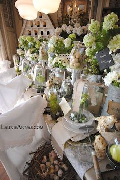 Tablescapes have always been our specialty and a trademark here @LaurieAnna's ....... so much to see!