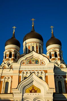 Russian Orthodox Church, Tallinn, Estonia