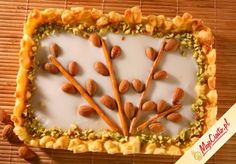 Mazurek z lukrem. Kliknij, aby poznać przepis. Przepisy wielkanocne, wielkanoc, ciasta na wielkanoc, babki wielkanoc, mazurek wielkanocny.