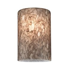 Design Classics Lighting Cylinder Art Glass Shade - Lipless with 1-5/8-Inch Fitter Opening | GL1016C | Destination Lighting
