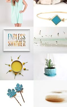 Endless Summer by WOWSTUFFS on Etsy--Pinned with TreasuryPin.com