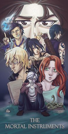 I've been dying to do some fan art for this and I couldn't hold back any longer! >w< I finally finished the series and oooooo I love them so much . The Mortal Instruments Immortal Instruments, Mortal Instruments Books, Cassandra Jean, Cassandra Clare Books, Narnia, Hush Hush, Percy Jackson, Clary Y Jace, City Of Ashes