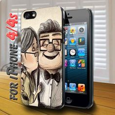 pixar up love story pic - design case for iphone 4,4s | shayutiaccessories - Accessories on ArtFire