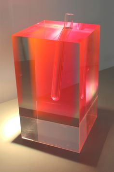 Pink Flower vase by Shiro Kuramata /// /// More on Interiorator.com - transmitting tomorrow's trends today