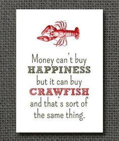 Funny Crawfish Posters
