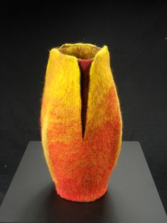 Felted Vessel by Peter McMasters