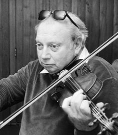 Isaac Stern - Russian born and American raised. Possibly the world's most accomplished and revered classical violinist.