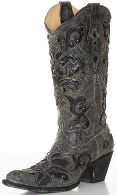Love these Corral Distressed Cowboy Boots.