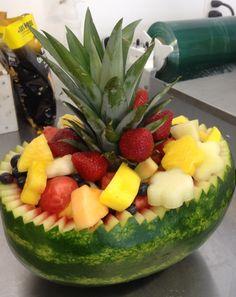 Beautiful fruit bowl