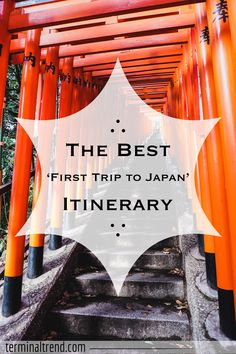 Want to know where to visit on your first trip to Japan? Here is The Best First Trip to Japan Itinerary covering 10 days of travel in Japan, with extra add-on trip ideas if you're staying longer!