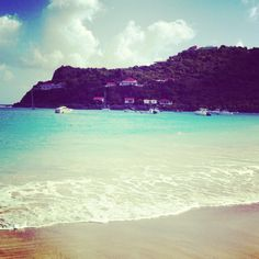 Saying goodbye to the island before we have to return back to NYC. So beautiful in St. Barth.