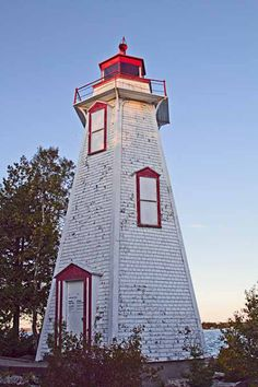 LIGHTHOUSE - Tobermory, Ontario Tobermory Ontario, Famous Lighthouses, Port Huron, Water Pictures, Beacon Of Light, O Canada, Light House, Windmills, Adventure Is Out There