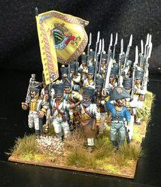 Napoleonic Saxon Musketiers