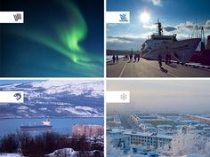 Murmansk. City branding by Svetlana Turkina, via Behance