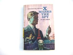 First Edition 1967 X Marks The Spy Christopher Cool by parkledge, $12.00