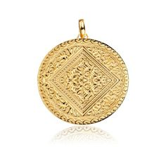 Mini Marie Pendant in 18ct Gold Plated Vermeil on Sterling Silver
