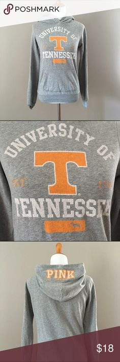 BOGO 1/2 off PINK Victoria Secret TN Hoodie Cheer on your team with this soft and comfy hoodie. PINK Victoria's Secret Tops Sweatshirts & Hoodies