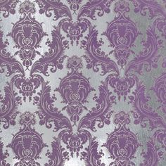 do you think this is to much to put all over a room or not ? i want a purple wallpaper that would match good with my furniture in my room its the hayworth collection from pier 1 imports