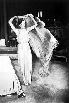 Carole Lombard on the set of Nothing Sacred (1937)