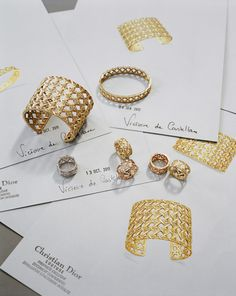 My Dior Jewelry Collection by Victoire de Castellane @Dior #luxury