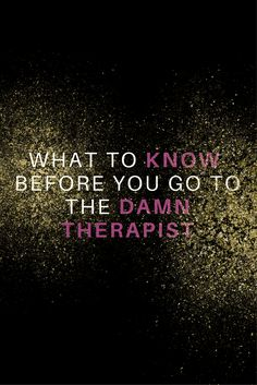 I am not a licensed therapist. If you are suffering from a major disorder and need treatment please seek the help of a professional. If you need help finding a mental health care provider call 1-800-662-HELP (4357). You can download a free printable list of hotlines here. Going to a therapist...