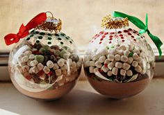 Hot Chocolate Mix Ornaments