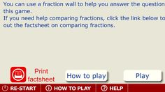 Ordering fractions - interactive for SmartBoard!
