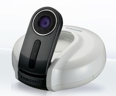 The SMART Home Camera can be accessed wherever you like and whenever you like.   http://www.babymonitorsdirect.co.uk/products/394/Samsung-Smart-Home-Camera-Baby-Monitor-SNH%252D1010N.html