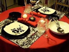 aaa20e94826 black and white and red all over. Liz Logan · launch party decorations