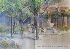 https://flic.kr/p/v8QwoZ | Jardins Rubió i Lluch-1 Barcelona - Josep Ramon