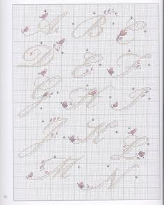 Gallery.ru / Фото #119 - Alphabets au point de croix - CrossStich