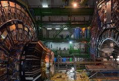 Andri Pol takes a look inside CERN's Swiss headquarters Technology Design, Science And Technology, Large Hadron Collider, The Future Is Now, Corporate Branding, Installation Art, Art Installations, Magazine Design, Worlds Largest