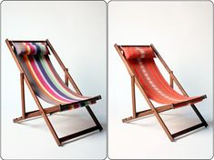 Handmade deck chairs