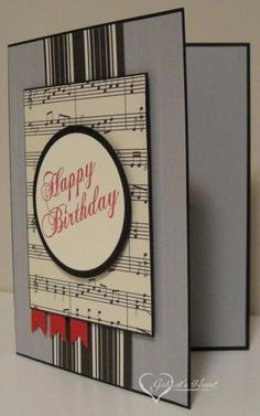 10 Best Musical Birthday Cards Images On Pinterest