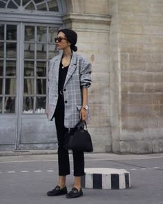 Blazers: Over-Sized & Plaid | The Simply Luxurious Life