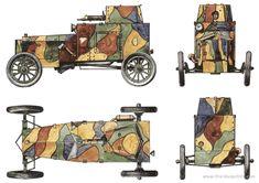 ford armored car blueprint